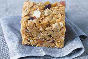 Easy Trail Mix Cereal Bars