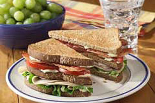 Easy Turkey Club Sandwich Image 1