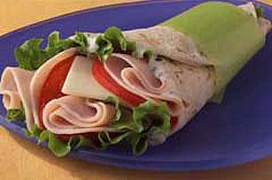 Easy Turkey Wrap Sandwich