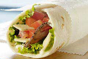 Easy Wrap Roast Beef Sandwich