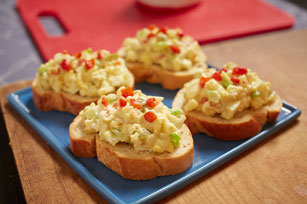 Egg Salad Crostini Image 1