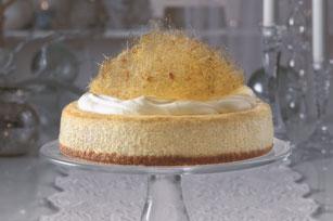 Vanilla-Eggnog Cheesecake