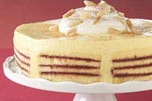 Eggnog Trifle Cake