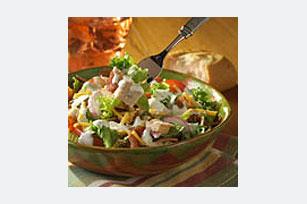 Ensalada con pollo y queso cheddar Image 1