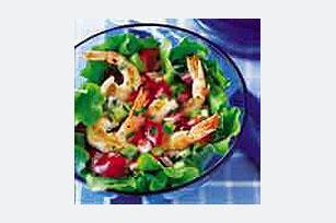 Ensalada de camarones asados Image 1