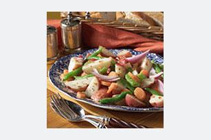 Ensalada de papas y vegetales a la toscana Image 1