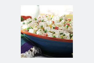 Ensalada de pollo y papas con mayonesa Image 1