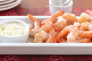 Entertaining Shrimp Cocktail Platter
