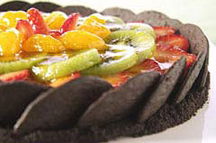 "Chocolate Wafer Fruit ""Tart"""