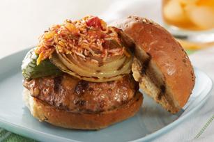 Fajita Turkey Burgers Image 1