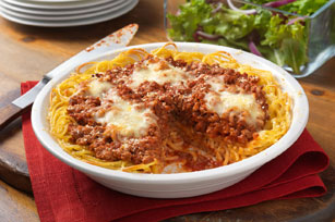 Family-Favorite Spaghetti Pie