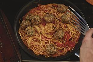 Family-Style Spaghetti & Meatballs