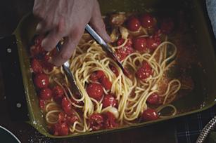 Farmers' Market Spaghetti
