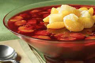 Fat Free Cranberry-Pineapple Dessert Image 1