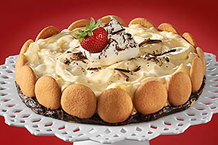 Festive Choco-Banana Torte