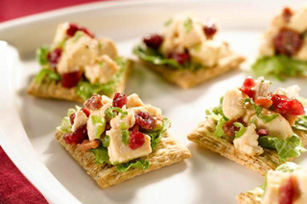 Festive Cranberry-Chicken Topper Image 1