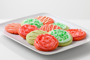 Reduced Sugar Festive Fruity Cookies