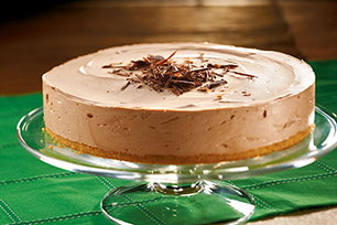 Festive Irish Cream Cheesecake Image 1
