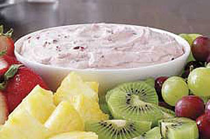 Festive Cranberry Dip for Fresh Fruit Image 1