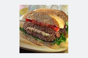 Feta-Stuffed Burgers