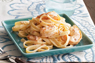 Shrimp and Chipotle Alfredo