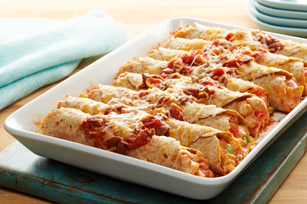 Fiesta Chicken Enchiladas Made Over