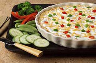 Fiesta Baked Cheese Dip Image 1