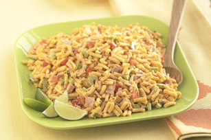Ensalada de macarrones con chiles