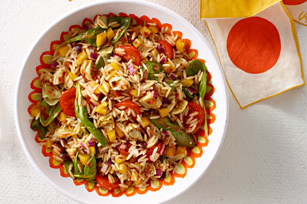 Italian Sundried Tomato-Orzo Salad