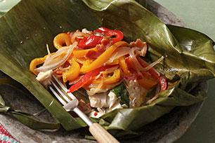 Tamales de pescado y verduras Image 1