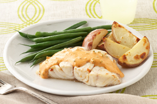 Fish with Romesco-Style Sauce