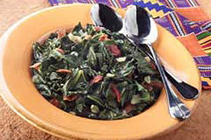 Flavorful Southern Collard Greens Image 1