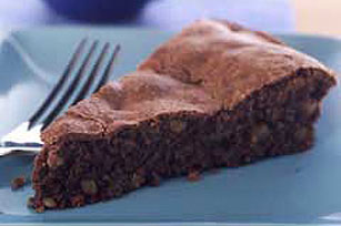 Flourless Chocolate-Nut Cake