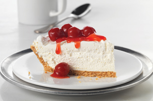 Smart-Choice Fluffy Cheesecake