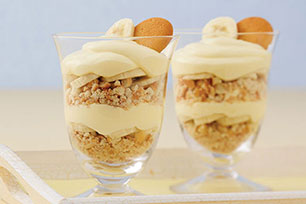 Fluffy Banana Pudding Parfaits