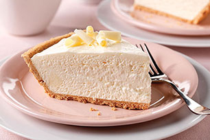 Fluffy White Chocolate Cheesecake Image 1