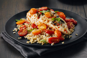 Foil-Pack Bruschetta Chicken