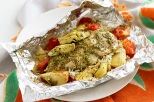 Foil-Pack Chicken & Artichoke Dinner Image 1