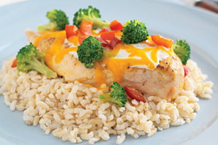 Foil-Packet Southwestern Chicken Dinner Image 1