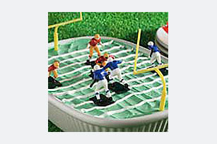 Football Field Dessert Image 1