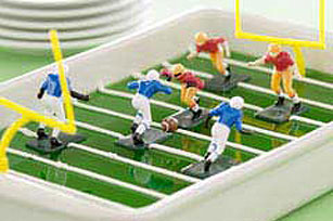 Football Field Gelatin Image 1