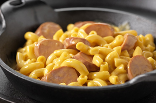 Four Cheese & Hot Dog Dish Image 1