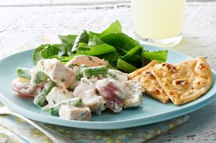 Salade bistro de pommes de terre et poulet