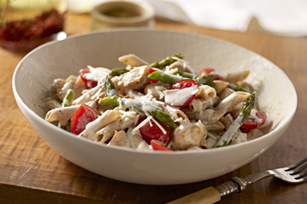 Fresh Asparagus, Tomato & Chicken Penne Image 1