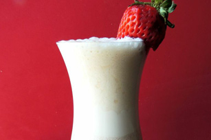 Fresh Fruit Pudding Smoothie