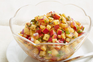 Fresh Peach Salsa