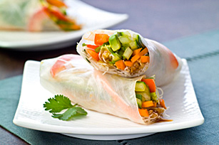 Fresh Vegetable Rolls