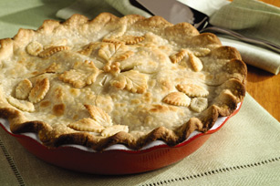 Fresh Deep-Dish Apple Pie