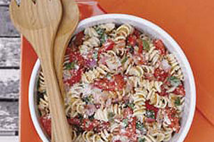 Fresh-from-the-Garden Tomato Pasta
