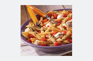 Fresh Mozzarella and Tomato Pasta Image 1